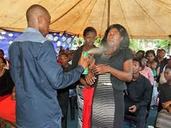 Prophet in hot soup after spraying Doom insecticide on